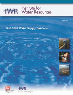 M and I Water Supply Database Report Cover Graphic