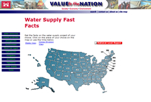 Value to the Nation: Water Supply Fast Facts