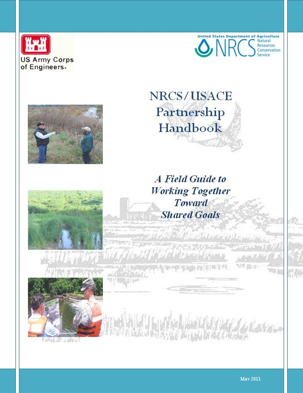 Cover of the USACE/NRCS Partnership Handbook