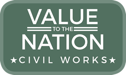 Value to the Nation logo graphic